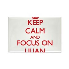 Keep Calm and focus on Lilian Magnets
