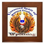 S.I. Untamed Spirit on Framed Tile