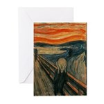 The Scream Greeting Cards (Pk of 10)
