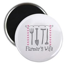 Farmer's Wife Magnets