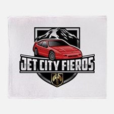 Red GT Throw Blanket