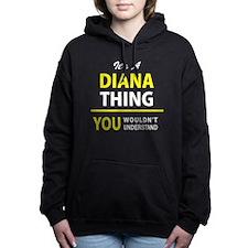 Diana Women's Hooded Sweatshirt