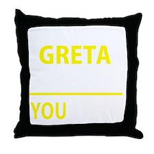 Unique Greta Throw Pillow