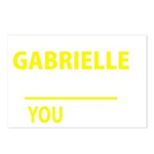 Cute Gabriel Postcards (Package of 8)