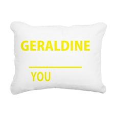 Cute Geraldine Rectangular Canvas Pillow