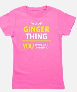 Unique Ginger Girl's Tee