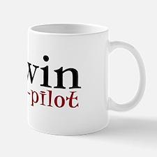 Darwin is my co-pilot Mug