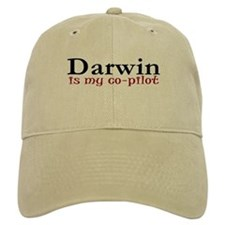 Darwin is my co-pilot Baseball Cap