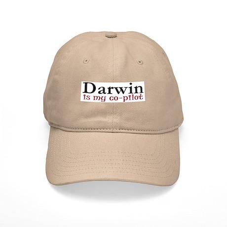 Darwin is my co-pilot Cap