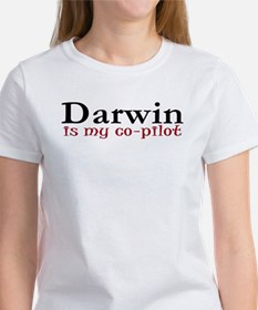 Darwin is my co-pilot Tee
