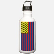 USA Tricolored Water Bottle