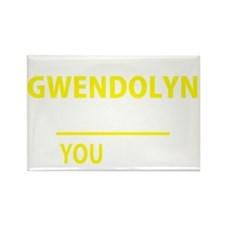 Funny Gwendolyn Rectangle Magnet