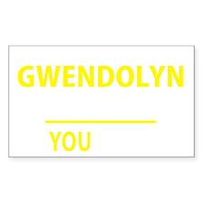Unique Gwendolyn Decal