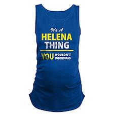 Funny Helena Maternity Tank Top