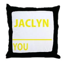 Cute Jaclyn Throw Pillow