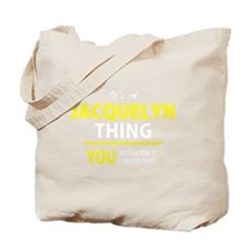Unique Jacquelyn Tote Bag