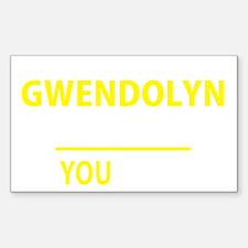 Funny Gwendolyn Decal