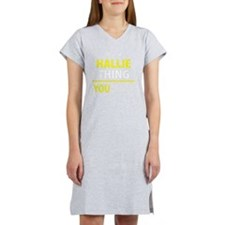 Funny Hallie Women's Nightshirt