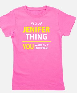 Unique Jenifer Girl's Tee