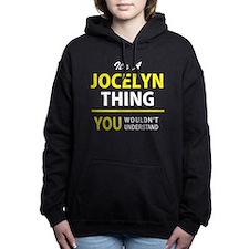 Cute Jocelyn Women's Hooded Sweatshirt