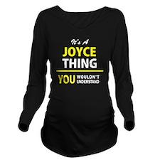 Joyce Long Sleeve Maternity T-Shirt