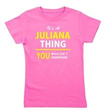 Cute Juliana Girl's Tee