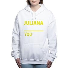 Cute Juliana Women's Hooded Sweatshirt