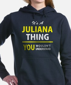 Cute Juliana Women's Hooded Sweatshirt