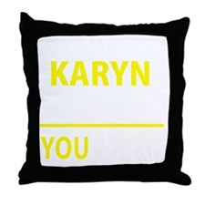 Unique Karyn Throw Pillow