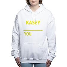 Funny Kasey Women's Hooded Sweatshirt