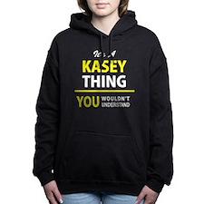Unique Kasey Women's Hooded Sweatshirt