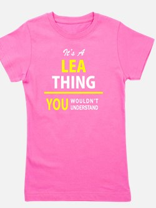 Cute Lea Girl's Tee