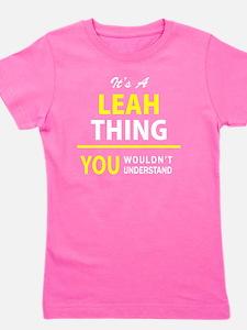 Funny Leah Girl's Tee