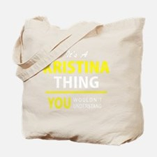 Cute Kristina Tote Bag