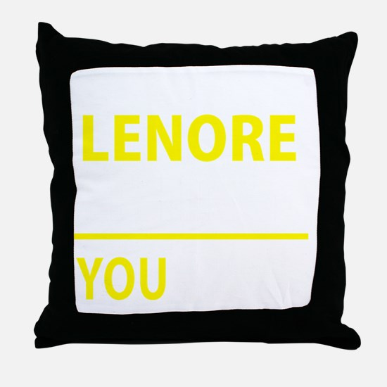 Cool Lenore Throw Pillow