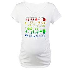 Rainbow 3D Animal Tracks Shirt