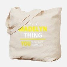 Cute Madelyn Tote Bag