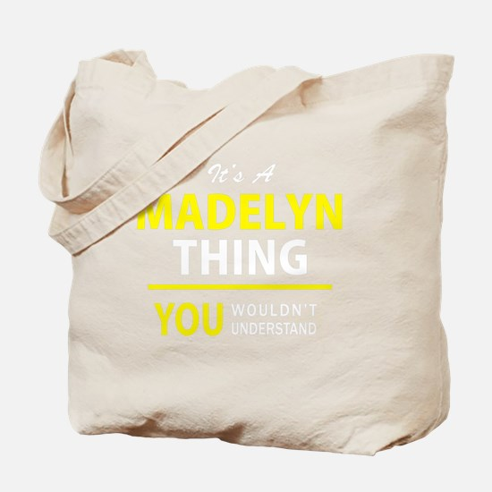 Cute Madelyn Tote Bag