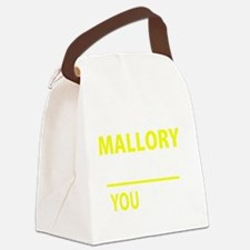 Cute Mallory Canvas Lunch Bag