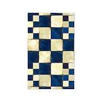 Cracked Tiles - Blue 3'x5' Area Rug