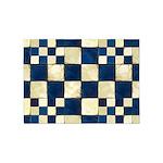 Cracked Tiles - Blue 5'x7'Area Rug