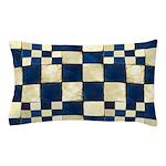Cracked Tiles - Blue Pillow Case
