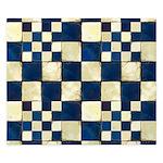 Cracked Tiles - Blue King Duvet