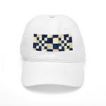 Cracked Tiles - Blue Cap