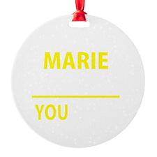 Funny Maribel Ornament