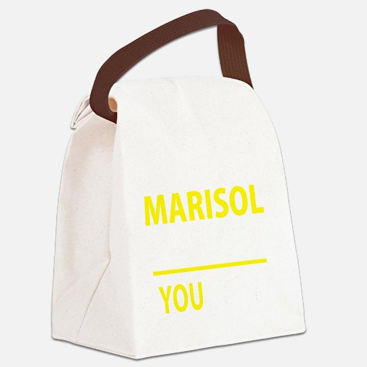 Cute Marisol Canvas Lunch Bag