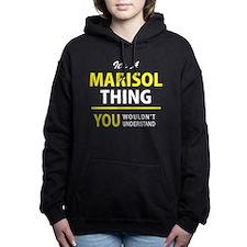 Cute Marisol Women's Hooded Sweatshirt