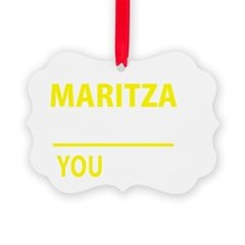 Cute Maritza Ornament