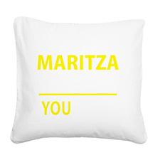 Cute Maritza Square Canvas Pillow