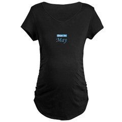 Due In May - Blue T-Shirt